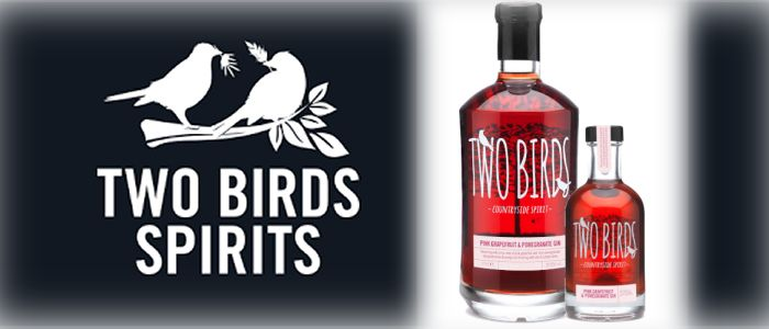 TWO BIRDS LAUNCHES PINK GRAPEFRUIT GIN