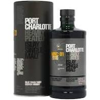 Port Charlotte 10 Year Old Heavily Peated Islay Ma